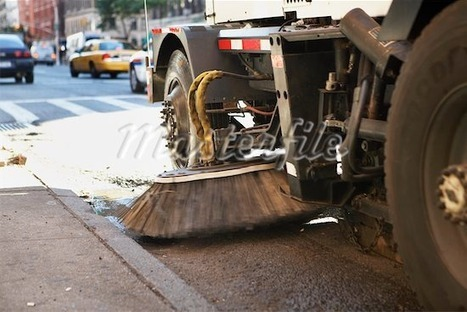 Street Cleaner, New York City, New York, USA Stock Photos | Candid Street Photography | Scoop.it