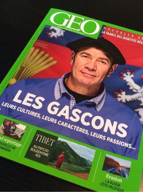 Les Gascons en couverture du magazine Géo! | Escapades en Armagnac | Scoop.it