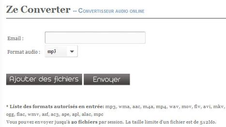 Free Mp3 M4a Wma Converter - Un convertisseur audio en ligne | TICE & FLE | Scoop.it