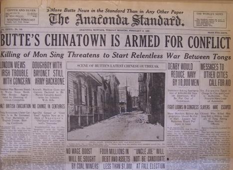 Chinatown Gangs, Tongs | Chinese American history | Scoop.it