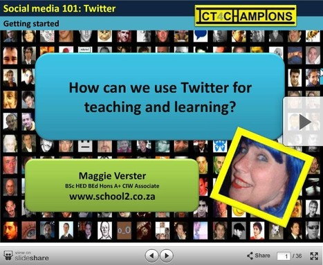 How To Use Twitter For Teaching And Learning | Edudemic | Web 2.0 for Education | Scoop.it