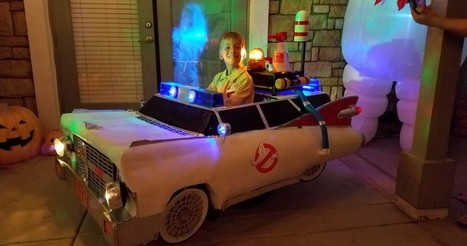 Dad Transforms Son's Wheelchair into a Mini Ecto-1 | Heron | Scoop.it