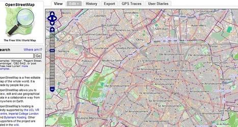 OpenStreetMap lève un demi-million de dollars pour sa cartographie libre   partage&collaboratif   Scoop.it