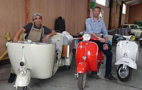 Bella Italia herstelt Vespa's in al hun glorie | Good Things From Italy - Le Cose Buone d'Italia | Scoop.it