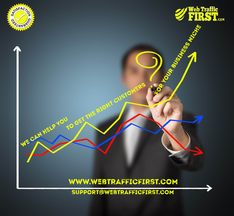 The specific visitors/customers for your specific business niche. | Web Traffic First | Scoop.it