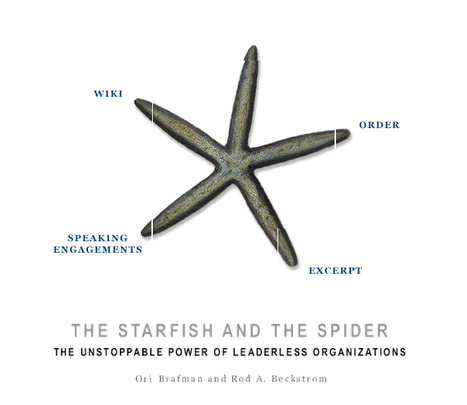 The Starfish and the Spider: The Unstoppable Power of Leaderless Organizations | Nova economia | Scoop.it