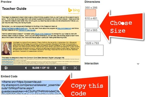 Embed a PowerPoint on your Website | Bradwell Institute Media | Scoop.it