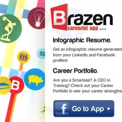 Brazen.me: Get Your Infographic Resume on Facebook! | visualizing social media | Scoop.it