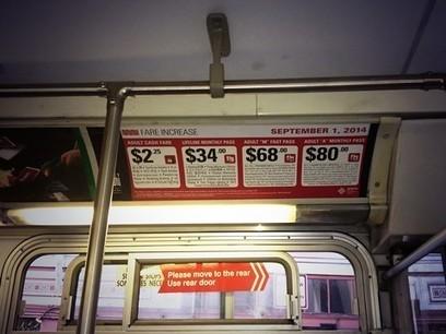 Muni fare increases begin Monday | Fixed App News | Scoop.it