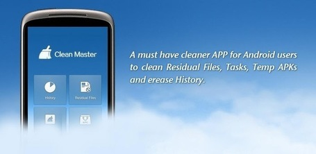 Clean Master (Cleaner) - Applications Android sur Google Play | WEBOLUTION! | Scoop.it