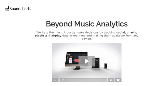 Music data company Soundcharts raises $360k in seed funding | MUSIC:ENTER | Scoop.it