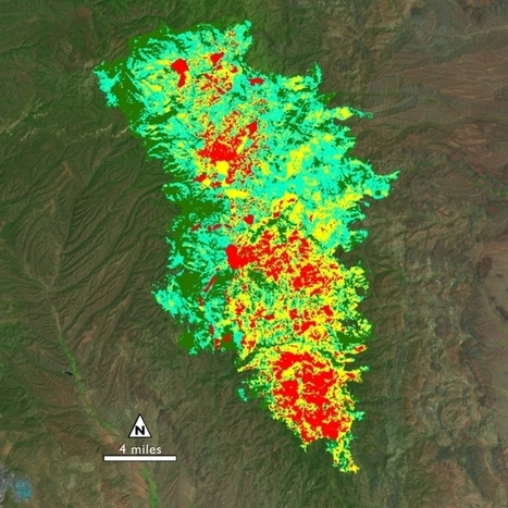 After a Fire, Before a Flood: NASA's Landsat Directs Restoration to ... | Remote Sensing News | Scoop.it