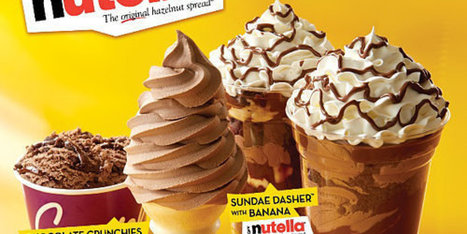 Behold, Carvel's Nutella Ice Cream | Food Innovation Culture | Scoop.it