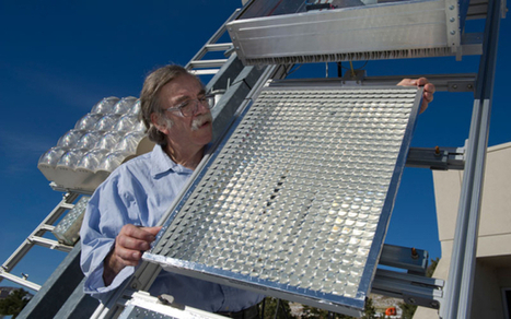 Tiny solar cell dots printed for powerful array | Sustainable Futures | Scoop.it