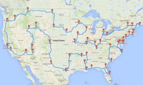 This Is The Best And Perfect Road Trip Route According To Science! | Family-Centred Care Practice | Scoop.it