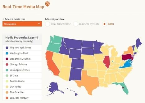 Bit.ly : une carte des actualités partagées en temps réel aux USA | La révolution consomm'actrice | Scoop.it