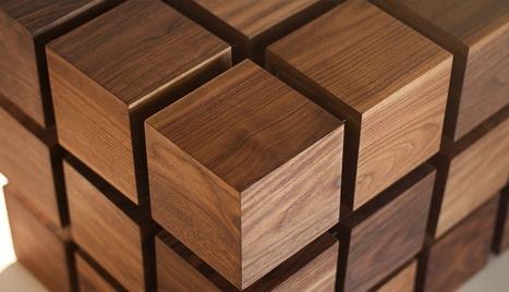 The Float Coffee Table par RockPaperRobot - Journal du Design | High tech & Design | Scoop.it
