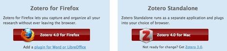 Zotero | Download 4.0 | Zotero | Scoop.it