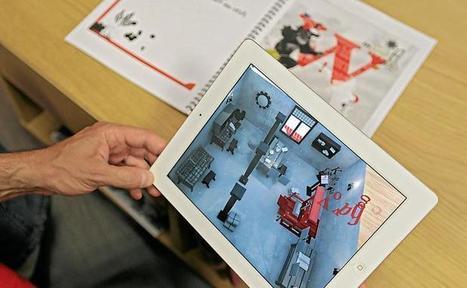 Le livre du futur est à l'atelier — 20minutes.fr   Nouvelles technologies (TIC)   Scoop.it