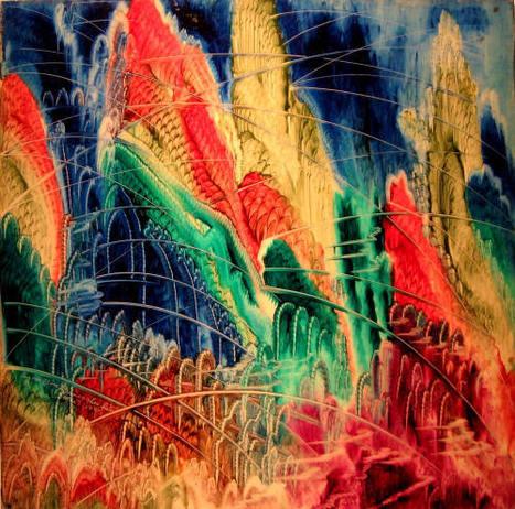Artist Eugene Von Bruenchenhein's Paintings,Poems,Sculptures   Visual*~*Revolution   Scoop.it