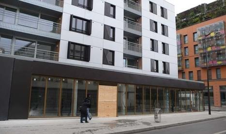Un nouveau quartier est né rue des Poissonniers - dixhuitinfo.com - l'actualité du 18e arrondissement de Paris | La Louve - Supermarché coopératif | Scoop.it