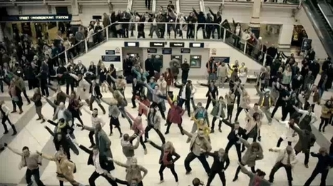 When adv uses the people's flock: advantages and risks about Flash mob - Blog - Hostess & Promoter | hostess | Scoop.it