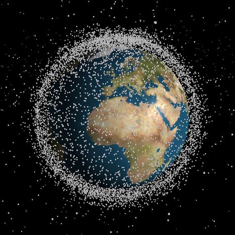 Espace: comment se débarrasser des débris spatiaux? | The Blog's Revue by OlivierSC | Scoop.it