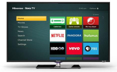 Roku Powered : la main tendue aux services de télévision à la ... - Connected-Objects.fr | Télévision connectée | Scoop.it