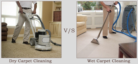 Dry Vs. Wet Carpet Cleaning   Carpet Cleaning   Scoop.it