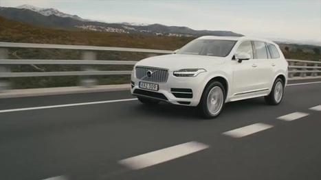 Jazdili sme s novým Volvom XC90   Chválov test   Doprava a technológie   Scoop.it