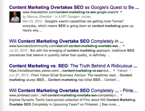 Why SEO Is Actually All About Content Marketing | SpisanieTO | Scoop.it