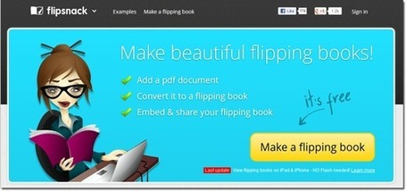 FlipSnack - Turn PDF Files into Flipping Books - Teach Amazing! | Conunpocoazúcar | Scoop.it