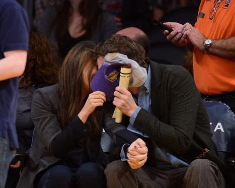 Mila Kunis Ashton Kutcher Kiss Cam | Hot Holly18-2 | Scoop.it