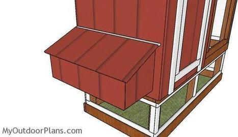 Chicken Coop Nesting Boxes Plans | MyOutdoorPlans | Free Woodworking Plans and Projects, DIY Shed, Wooden Playhouse, Pergola, Bbq | Garden Plans | Scoop.it