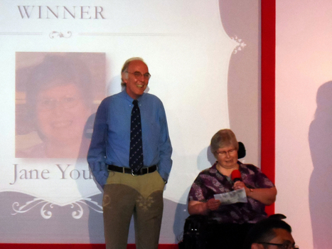 Receiving the O A Denly Memorial Award 2013 | Welfare, Disability, Politics and People's Right's | Scoop.it