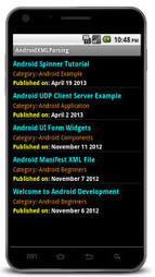 Android XML Parsing Tutorial-Androidituts | Androidituts | Scoop.it