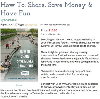 How To: Share, Save Money & Have Fun | Peer2Politics | Scoop.it