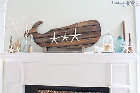Beach Decor – Reclaimed Wood Whale Art - Finding Home | Dave Salzman | Scoop.it