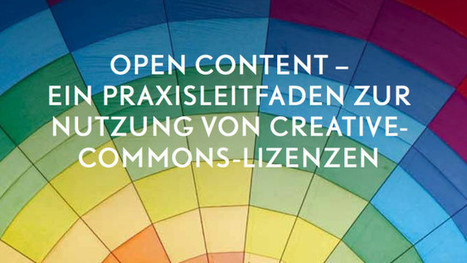 Praxisleitfaden zur Nutzung freier Lizenzen | Medienpädagogik Praxis-Blog | Technology Enhanced Learning in Teacher Education | Scoop.it