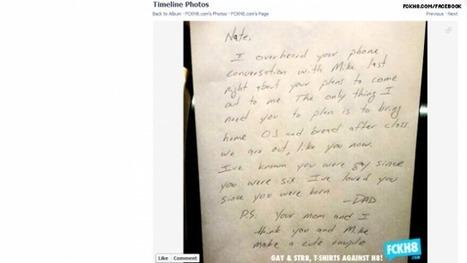 Carta de un padre a su hijo gay: Lo supe desde que naciste y siempre te he amado | Sociedad 3.0 | Scoop.it