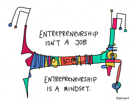 entrepreneurship is a mindset - Gapingvoid | Rise of the Fourth Economy | Scoop.it