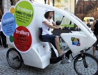 Pédaler pour mieux informer à Strasbourg | L'office de tourisme du futur | Scoop.it