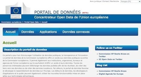 La Commission Européenne se met à l'Open data | Consommateur et tourisme | Scoop.it