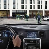 """Geneva 2013: Volvo unveils world's first bicyclist detection with auto brake system 