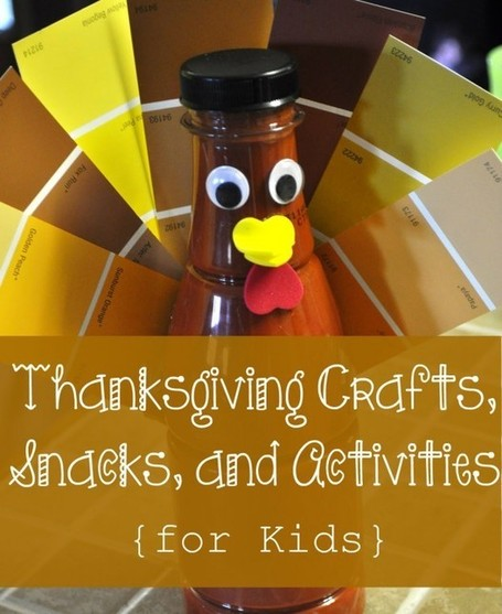 Thanksgiving Crafts, Snacks, and Activities for Kids | Thanksgiving Crafts for Kids | Scoop.it