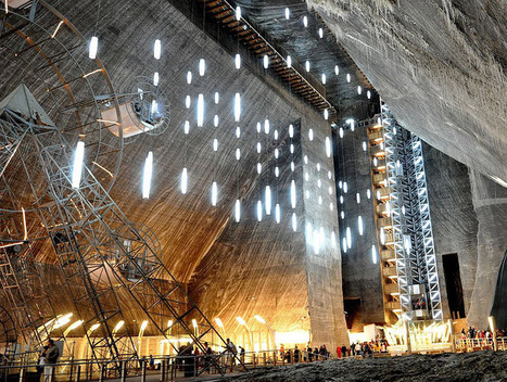 salina turda salt mines turned subterranean history museum | Inspired By Design | Scoop.it