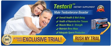 Testoril Testosterone Dietary Supplement Review | Increases your lean muscle mass | Scoop.it