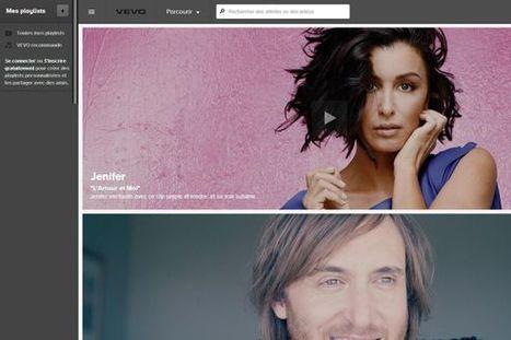 Le site de musique Vevo débarque en France | News musique | Scoop.it