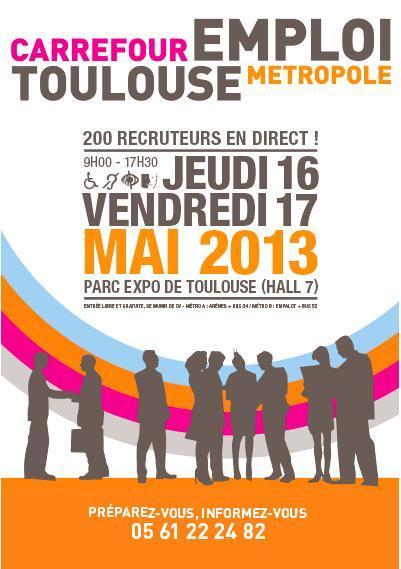 Toulouse Métropole pour l'Emploi 2013 | La lettre de Toulouse | Scoop.it