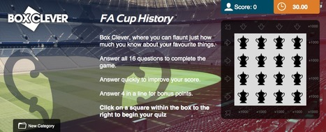 FA Cup Quiz | Box Clever | QuizFortune | Quiz Related Biz - Social Quizzing and Gaming | Scoop.it
